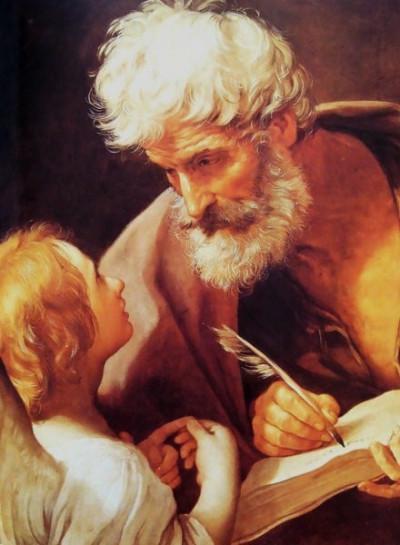 "Guido Reni [Public domain], <a href=""https://commons.wikimedia.org/wiki/File:Evangelist-St.-Matthew-And-The-Angel.jpg"" target=""_blank"">via Wikimedia Commons</a>"