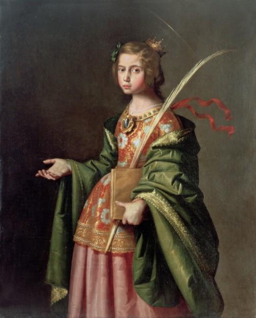 "Francisco de Zurbarán [Public domain], <a href=""https://commons.wikimedia.org/wiki/File:Francisco_de_Zurbar%C3%A1n_-_Saint_Elizabeth_of_Thuringia_-_Google_Art_Project.jpg""  target=""_blank"">via Wikimedia Commons</a>"