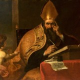 Gerard_Seghers_attr_-_The_Four_Doctors_of_the_Western_Church_Saint_Augustine_of_Hippo_354430