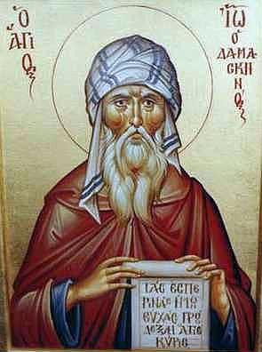 """The original uploader was Eestevez at English Wikipedia.; description page is/was here. [Public domain], <a href=""""https://commons.wikimedia.org/wiki/File:John-of-Damascus_01.jpg""""  target=""""_blank"""">via Wikimedia Commons</a>"""