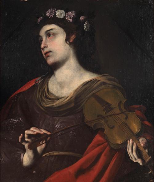 "Andrea Vaccaro [Public domain], <a href=""https://commons.wikimedia.org/wiki/File:Andrea_Vaccaro_-_Saint_Cecilia.jpg""  target=""_blank"">via Wikimedia Commons</a>"