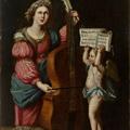 Bernardo_Strozzi_circle_Saint_Cecilia_playing_bass