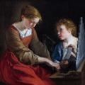Orazio_Gentileschi__Giovanni_Lanfranco_-_Santa_Cecilia_con_un_angelo_National_Gallery_of_Art_resize