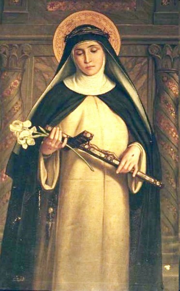 """anonimous [Public domain], <a href=""""https://commons.wikimedia.org/wiki/File:Catherine_of_Siena.jpg""""  target=""""_blank"""">via Wikimedia Commons</a>"""