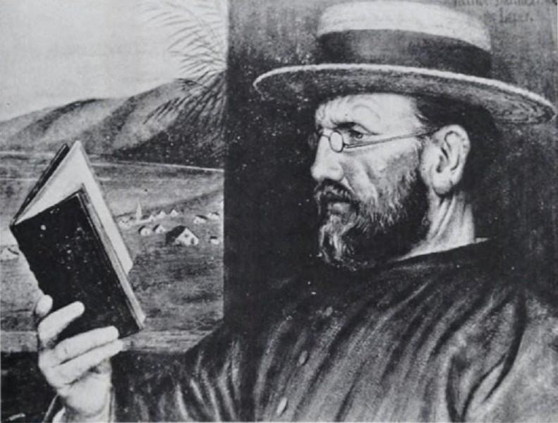 "Edward Clifford [Public domain], <a href=""https://commons.wikimedia.org/wiki/File:Edward_Clifford_%E2%80%93_Damien_in_1888.jpg""  target=""_blank"">via Wikimedia Commons</a>"