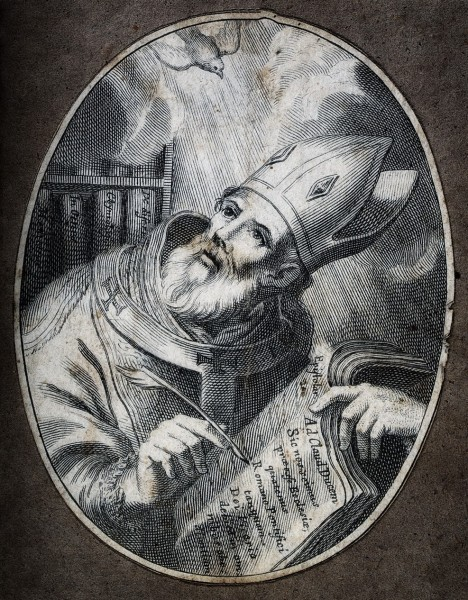 """See page for author [<a href=""""https://creativecommons.org/licenses/by/4.0""""  target=""""_blank"""">CC BY 4.0</a>], <a href=""""https://commons.wikimedia.org/wiki/File:Saint_Isidore._Engraving._Wellcome_V0032212.jpg""""  target=""""_blank"""">via Wikimedia Commons</a>"""