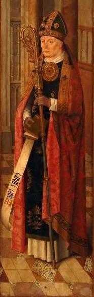 "Master of the Pacully collection [Public domain], <a href=""https://commons.wikimedia.org/wiki/File:San_Isidoro_de_Sevilla,_del_Maestro_de_la_Colecci%C3%B3n_Pacully_(Museo_Nacional_de_Escultura_de_Valladolid).jpg""  target=""_blank"">via Wikimedia Commons</a>"