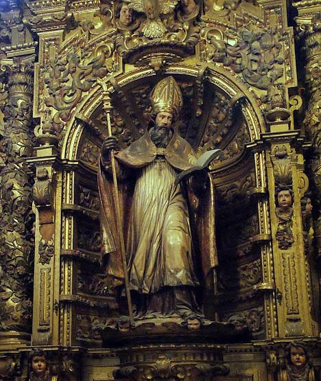 "Pepe Becerra [<a href=""https://creativecommons.org/licenses/by-sa/4.0""  target=""_blank"">CC BY-SA 4.0</a>], <a href=""https://commons.wikimedia.org/wiki/File:San_Isidoro_(Retablo_de_la_capilla_de_San_Isidoro_de_la_catedral_de_Sevilla).jpg""  target=""_blank"">via Wikimedia Commons</a>"
