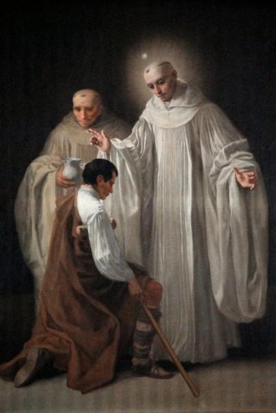 "Francisco Goya [Public domain], <a href=""https://commons.wikimedia.org/wiki/File:San_Bernardo_de_Claraval_curando_a_un_tullido_por_Francisco_de_Goya.jpg""  target=""_blank"">via Wikimedia Commons</a>"