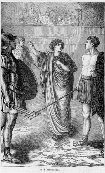 """anonyme, scan by Havang(nl) [Public domain], <a href=""""https://commons.wikimedia.org/wiki/File:Kath._Illustratie_1869-1870_nr_26_p.204_gravure_De_H._Telemachus.jpg"""" target=""""_blank"""">via Wikimedia Commons</a>"""