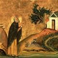 Saint_Isidore_of_Pelusium_Menologion_of_Basil_II