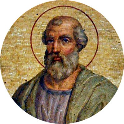 "Pope Saint Linus - Unknown author, Basilica of St. Paul Outside the Walls, Rome  <a href=""https://commons.wikimedia.org/wiki/File:Linus_primi.jpg"" title=""via Wikimedia Commons"" target=""_blank"">Unknown author</a> / Public domain"