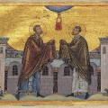 Cosmas_and_Damian_Menologion_of_Basil_II